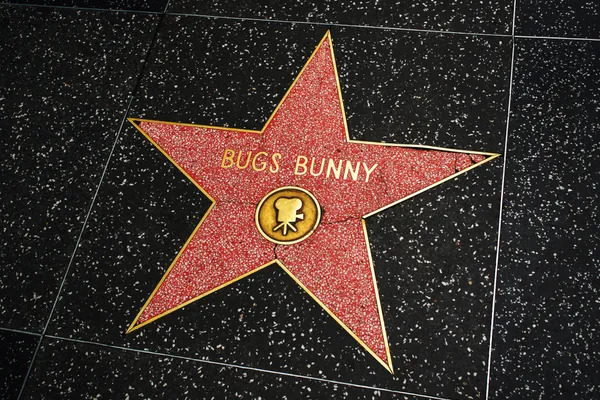 Bugs Bunny star on Hollywood Celebrity Boulevard