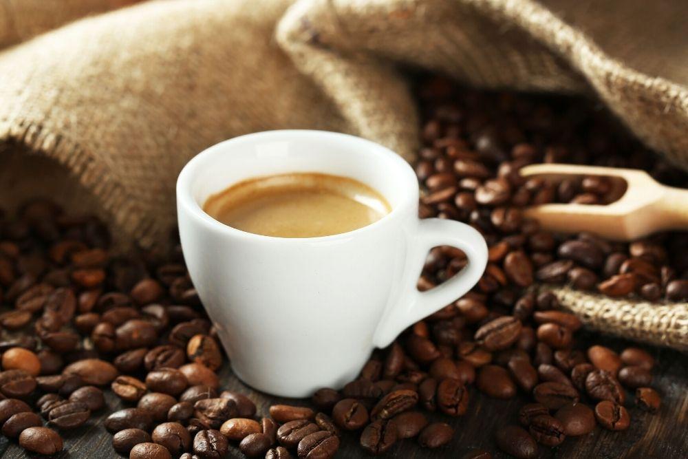 Espresso - a small cup of coffee