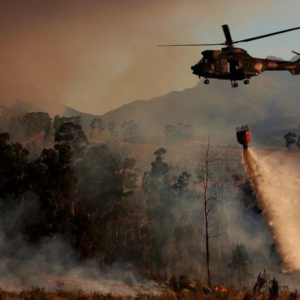 The greatest bushfire in modern world history.