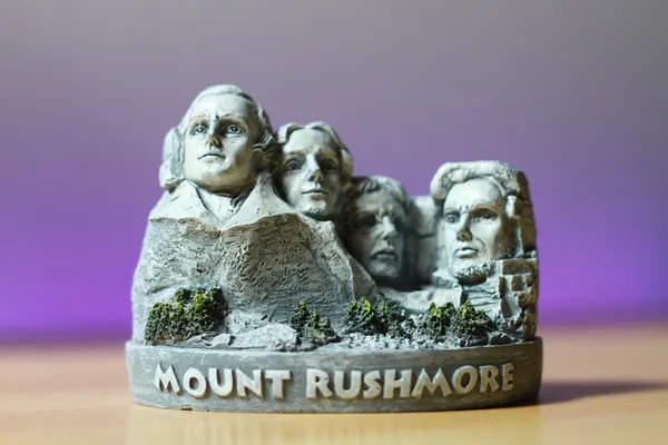 Mount Rushmore - Souvenir of US presidents on the mountain.