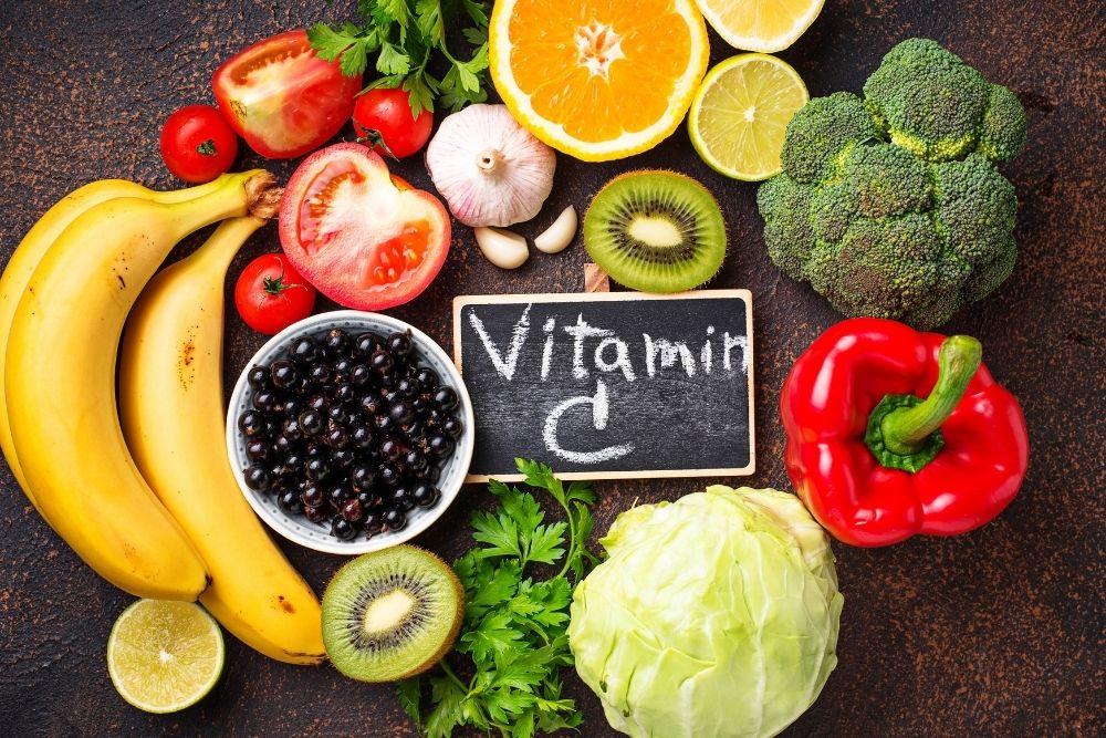 Vitamin C and the food that contains it.