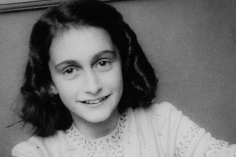 Anna Frank, A Jewish girl that wrote a Diary during world war 2.