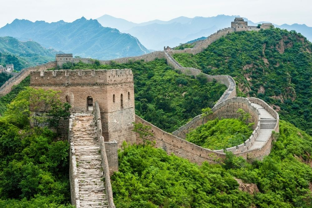 The great wall of China is part of the Wonders Of The World.