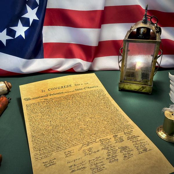 4th of July independence declaration.