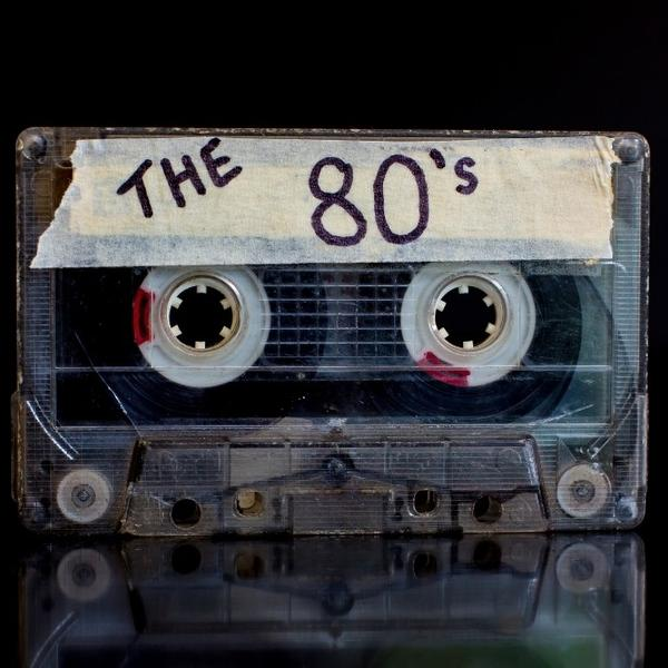 A 80s music old cassette.