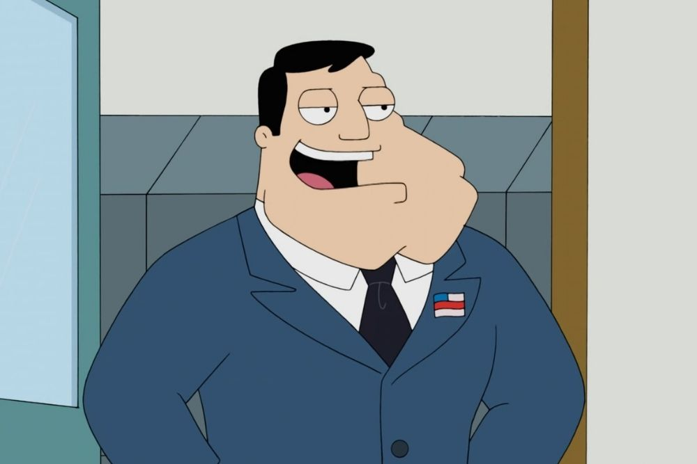 Stan from the American Dad TV series.
