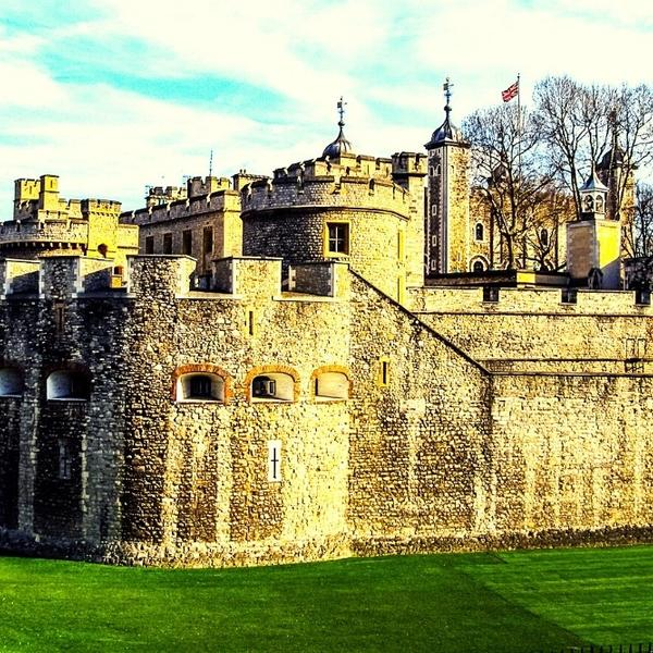Tower of London, an important part of the British history.