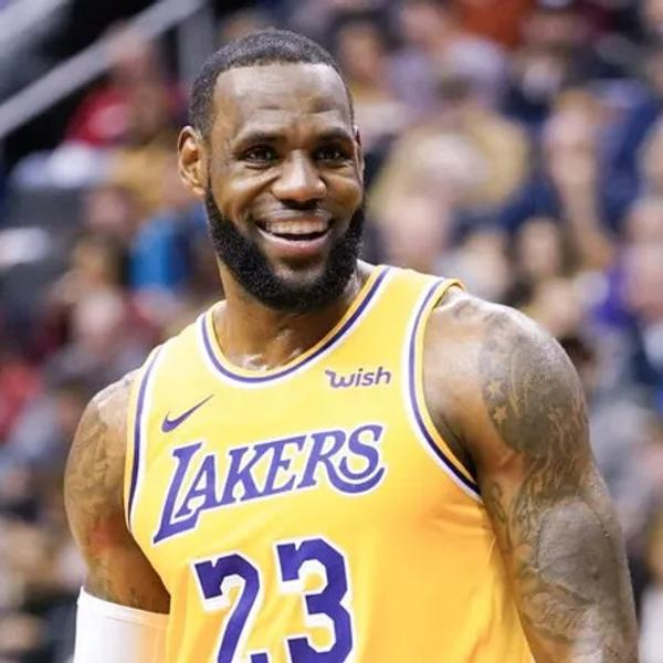 Lebron James, The amazing NBA and Lakers player.