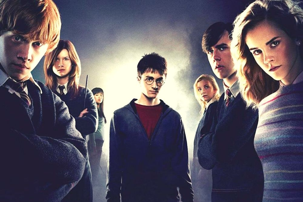 Harry Potter Characters - Harry Potter, Hermione Granger, Ron Weasley, and more.