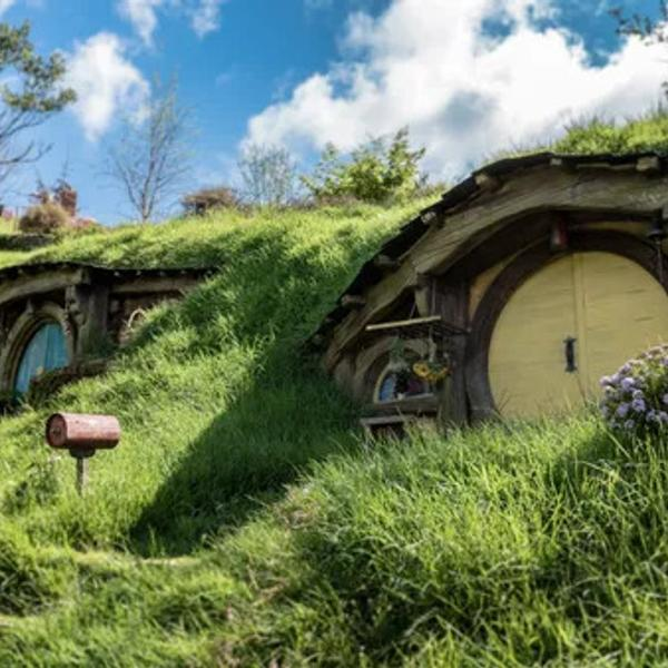 The hobbits shire of the Lord of the Rings
