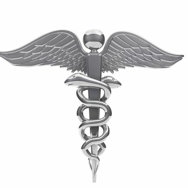 A funny medical doctor with glasses.