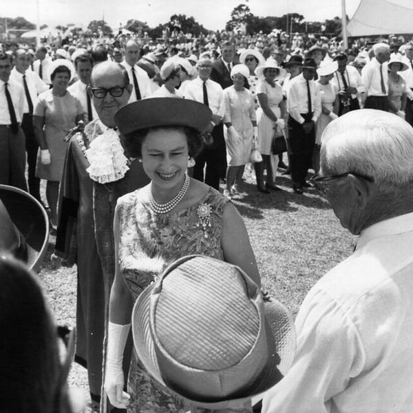 British Royal Family, Her Majesty Queen Elizabeth II visiting Townsville.