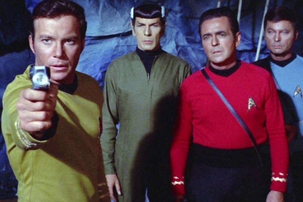 Star Trek Characters from the original Star Trek TV series.