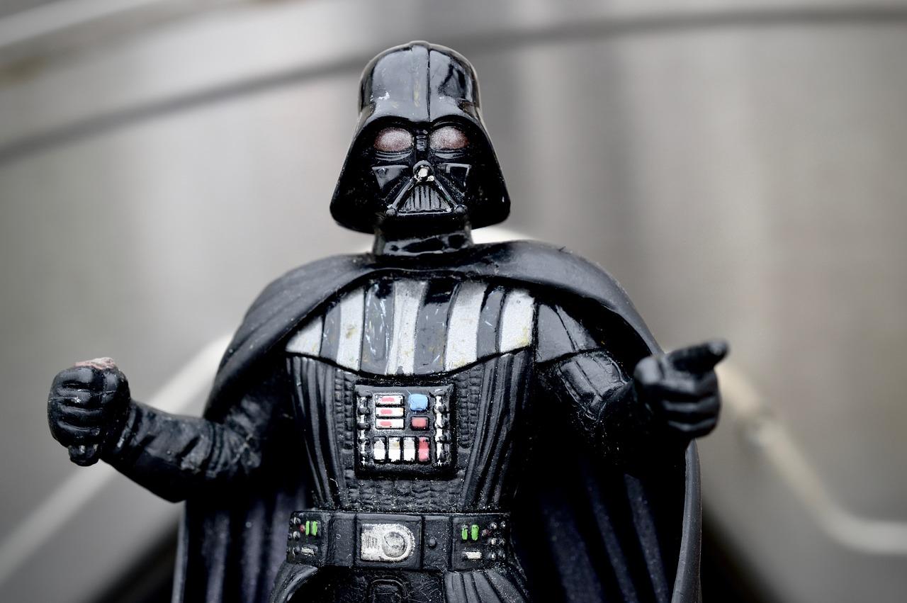 Darth Vader from Stars Wars.