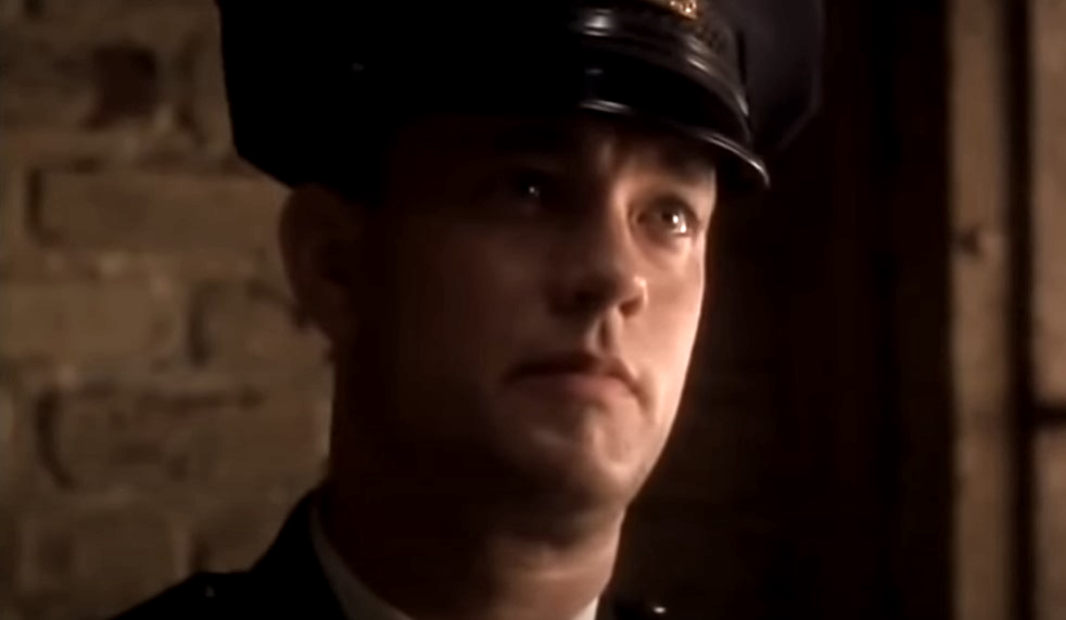 Tom Hanks in the green mile.