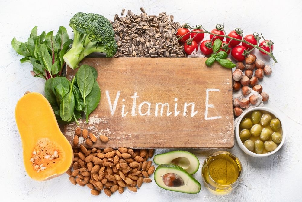 Vitamin E and the food that contains it.