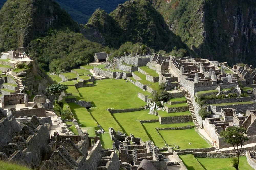 The Machu Pichu in Peru is part of the Wonders Of The World.