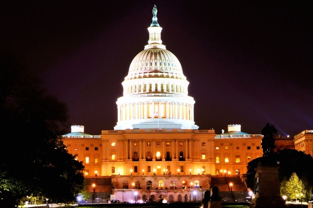Washington DC is said to be the capital of the world.
