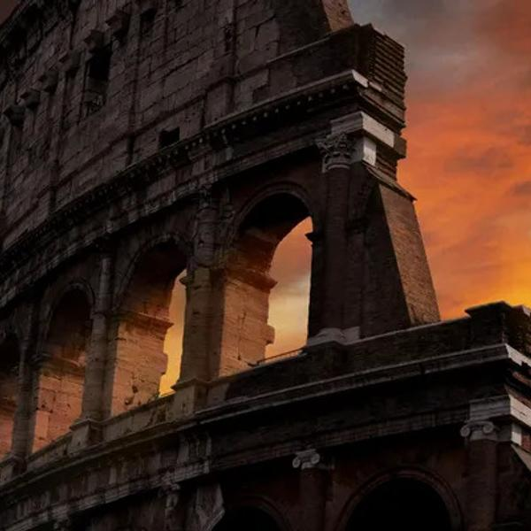 The Coliseum in Rome is part of our world history.