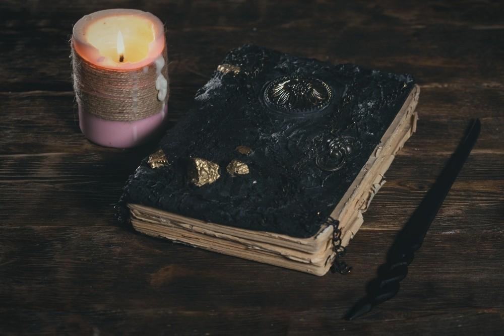 Magic book of Harry Potter.